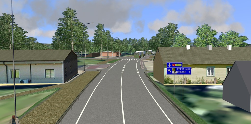 Highway nr 2  (km 197-201)