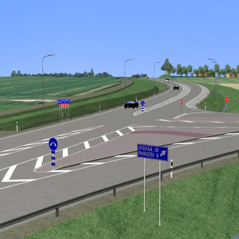 Highway nr. 2 (km 197-201)