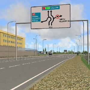 Tartu City western bypass (zone I)