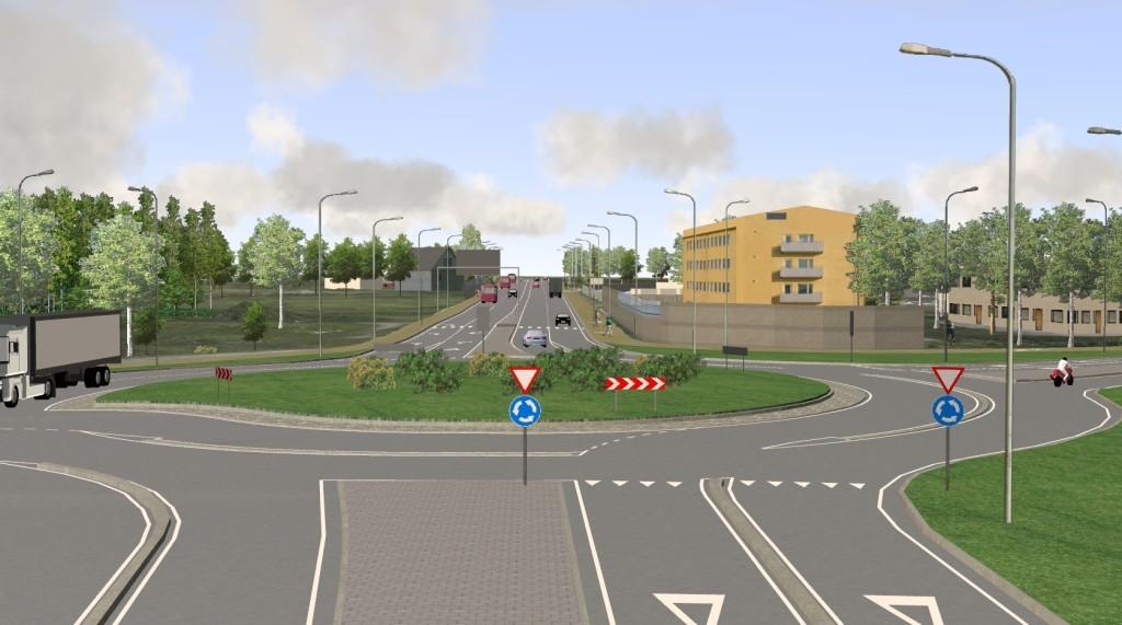 Tartu City western bybass (Zone I)