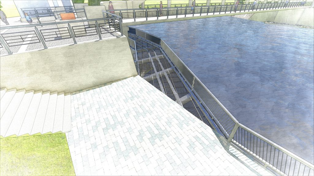 Tartu archbridge reconstruction