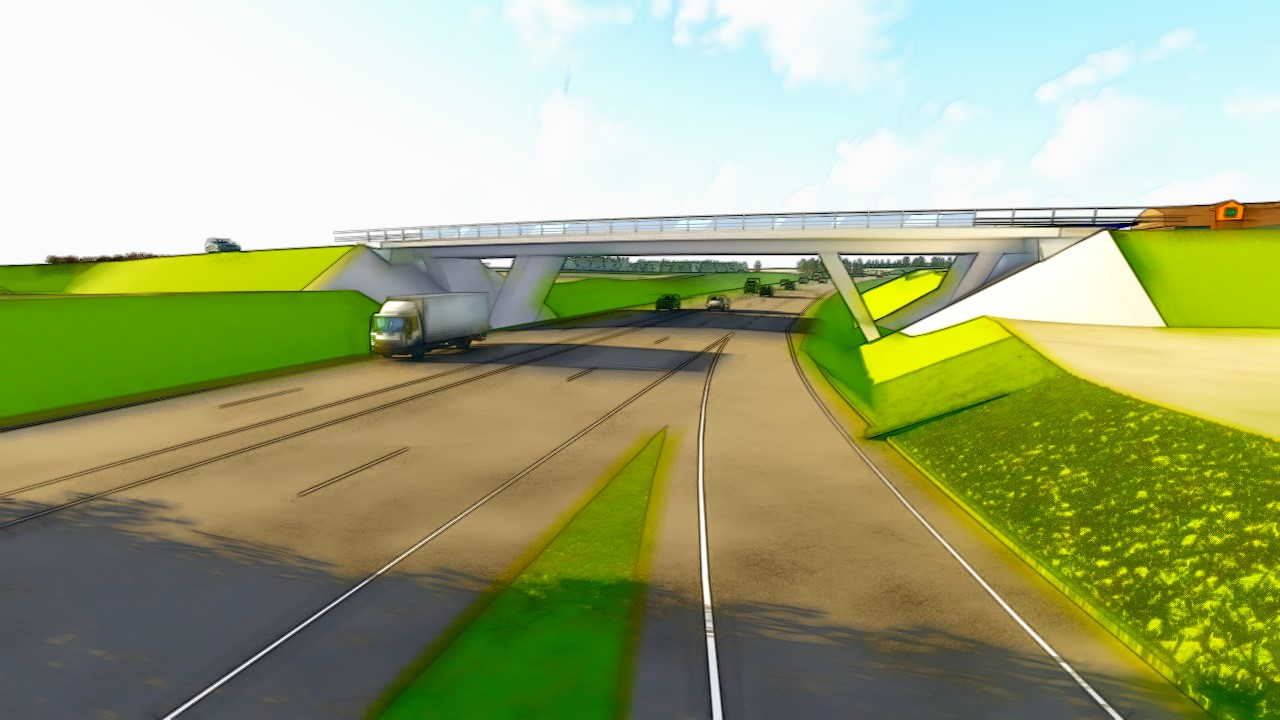 Kernu multilevel intersection bridge alternatives