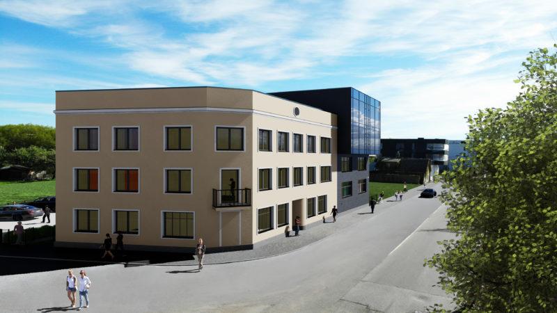 Aparment building renders